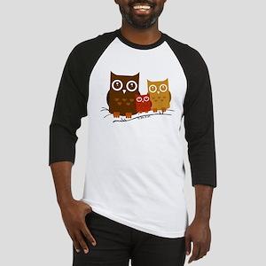 Three Owls Baseball Tee