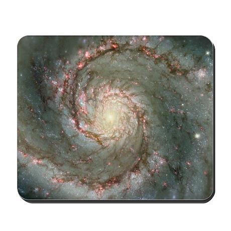 M51 the Whirlpool Galaxy Mousepad