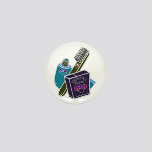 Toothbrush Toothpaste Floss Mini Button