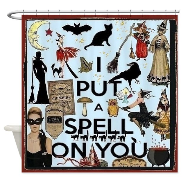 Spell Shower Curtain By MaggiesHeartVintageShoppe
