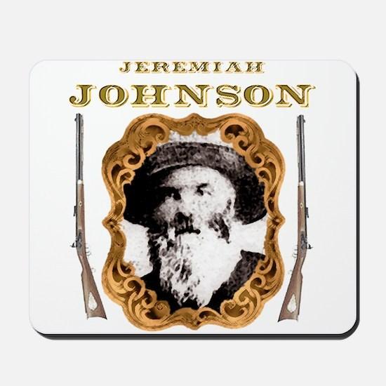 Liver eating Johnson Jeremiah Mousepad