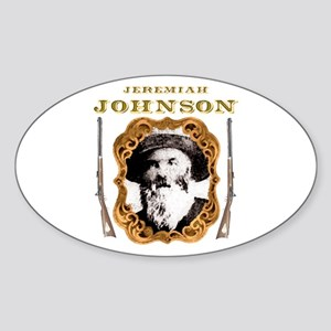 Liver eating Johnson Jeremiah Oval Sticker
