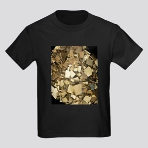 Cubic pyrite crystals T-Shirt