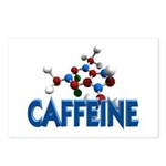 Caffeine Molecule Postcards (Package of 8)
