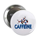 Caffeine Molecule Button
