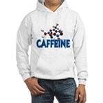 Caffeine Molecule Hooded Sweatshirt