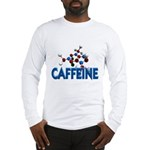 Caffeine Molecule Long Sleeve T-Shirt