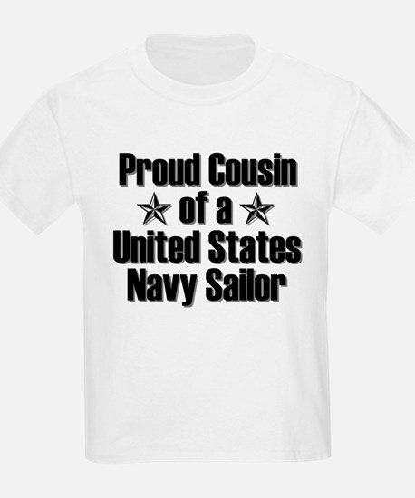 Proud Navy Cousin Star T-Shirt