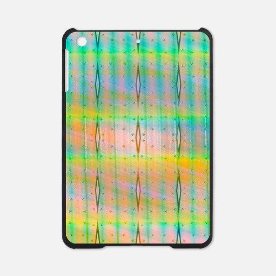 Turquoise Yellow Tie Dye iPad Mini Case