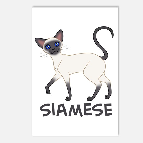 Blue Point Siamese Postcards (Package of 8)