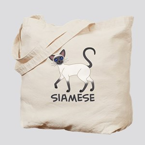 Blue Point Siamese Tote Bag