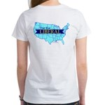 True Blue United States LIBERAL Women's T-Shirt