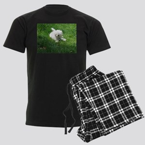 bolognese laying in grass Pajamas