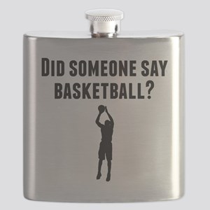 Did Someone Say Basketball Flask