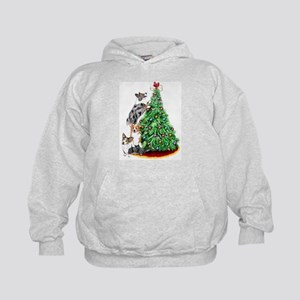 Corgi Christmas Kids Hoodie