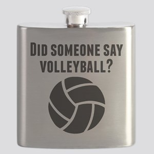 Did Someone Say Volleyball Flask