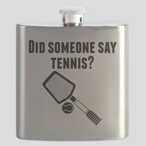 Did Someone Say Tennis Flask