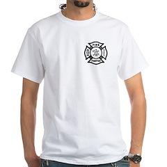 Firefighter White T-Shirt