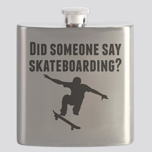 Did Someone Say Skateboarding Flask