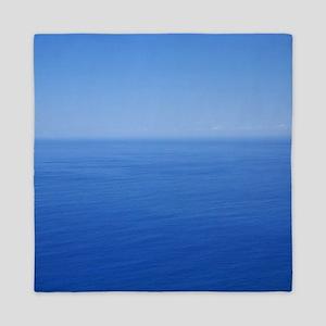 Blue horizon Queen Duvet