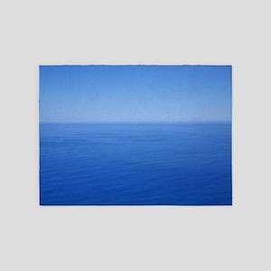 Blue horizon 5'x7'Area Rug