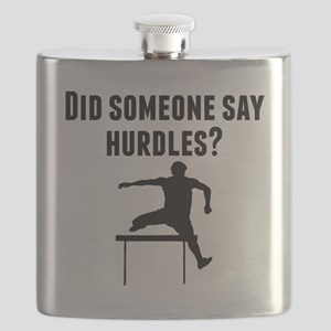 Did Someone Say Hurdles Flask