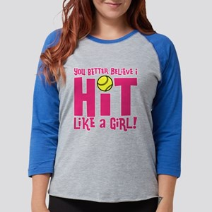 HIT LIKE A GIR Long Sleeve T-Shirt