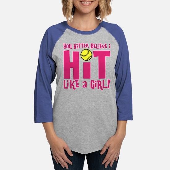 HIT LIKE A GIR Long Sleeve T-Shirt
