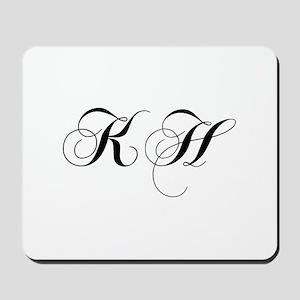 KH-cho black Mousepad