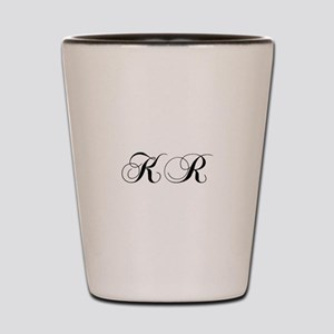 KR-cho black Shot Glass