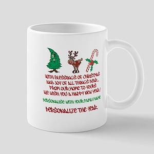 Blessings Of Christmas Mugs