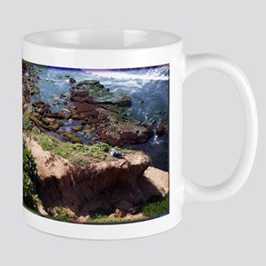 California Coast with Seagull Mugs