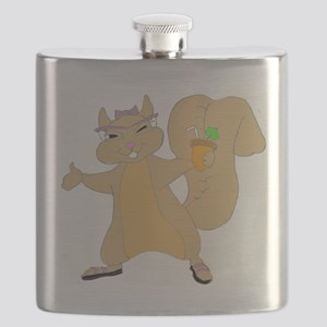 Party Time Squirrel Girl Flask
