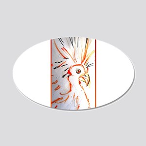 Bird, abstract wildlife art Wall Decal