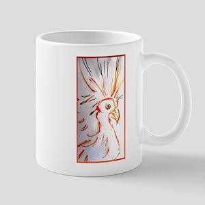 Bird, abstract wildlife art Mugs