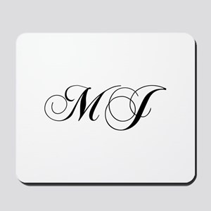 MJ-cho black Mousepad
