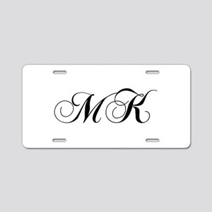 MK-cho black Aluminum License Plate