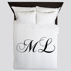 ML-cho black Queen Duvet