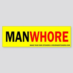 MAN WHORE - Revenge Sticker