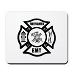 Firefighter EMT Mousepad
