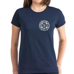 Firefighter EMT Women's Dark T-Shirt