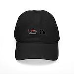 I Love Kisses Black Cap
