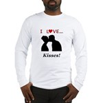 I Love Kisses Long Sleeve T-Shirt