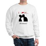 I Love Kisses Sweatshirt