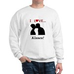 I Love Kisses Sweatshirt