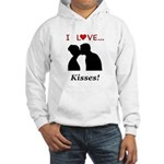 I Love Kisses Hooded Sweatshirt