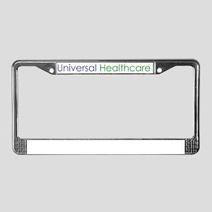 Universal Healthcare License Plate Frame