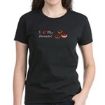 I Love Donuts Women's Dark T-Shirt
