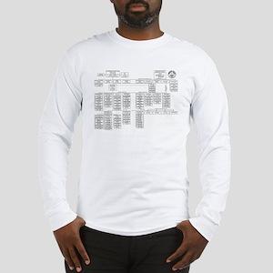 Manhattan Project Organization Long Sleeve T-Shirt