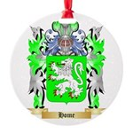 Home Round Ornament